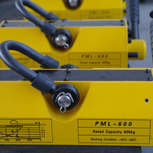 PML-600永磁起重器厂家直销,手动永磁起重器PML-6镀锌2.5倍拉力永磁吸盘图片