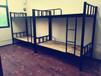 学生宿舍双层铁床高低床员工床上下铺高架子床成人字母床
