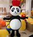 卡通服装熊猫科尼行走卡通人偶服装熊
