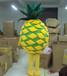 卡通服装定制科尼卡通人偶定做菠萝
