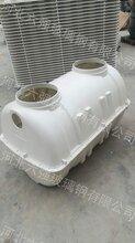 供应六强生产的1立方新农村改造模压化粪池农村三格式化粪池直销