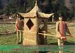 雅安寓言故事草雕稻草人工藝品加工生產