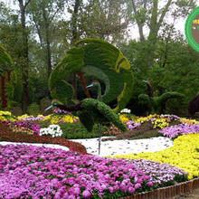 尚志大型公园绿雕高清图图片