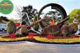 澄邁汽車綠雕工藝品生產多圖