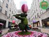 臺兒莊立體花壇綠雕設計信息
