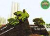 陽新立體花壇綠雕造景訂購信息