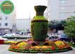 懷柔立體花壇綠雕造景供應