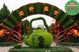 五原菊花造型雕塑廠家供貨