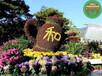 阜新立體花壇怎么訂購?綠雕廠家