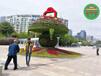 桑日70周年绿雕花篮生产价格