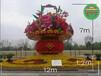 华安大型广场花篮绿雕制作公司
