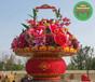 朗县大型景观花篮雕塑设计公司