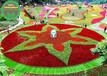 锡林郭勒盟二连浩特立体花坛绿雕制作公司