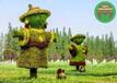 現貨定制:青銅峽綠雕景觀小品廠商出售
