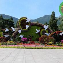 桂林资源开封立体花坛绿雕生产厂家图片