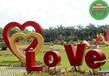 赤峰喀喇沁旗五色草造型绿雕供货价格