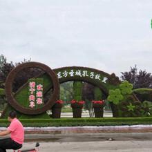 内江隆昌城市植物雕塑厂家价格图片