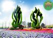 现场制作:古田仿真动物绿雕厂家供应