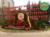 漳州南靖五色草造型绿雕制作公司