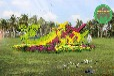 滁州定遠立體花壇立體綠化廠家價格