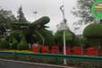 現場制作:吉州仿真綠雕植物墻怎么制作