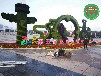 紹興柯橋立體綠雕植物制作團隊