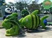 现场制作:元阳绿色景观雕塑怎么制作