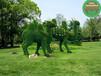 现场制作:方正绿色景观雕塑展览