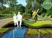 现场制作:赤壁绿雕景观小品厂家供应