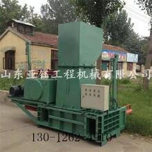 卧式青贮秸秆饲料压块机价格图片