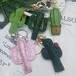 義烏市新藝工藝品歐美創意禮贈品獨角獸鑰匙掛件亞克力最新款獨角獸亮珠片鑰匙扣