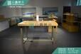 福建现货小米木纹礼品柜定制小米中岛配件柜小米中央体验桌挂墙灯箱