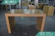 最美华为铁质洽谈桌,定制靠墙配件柜,木纹铁质展示柜3.0体验桌大酬宾