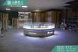 体验店圆形体验桌专业制作柜台厂家组合靠墙配件柜电信受理台现货