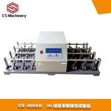 CS-6055Bbally皮革耐撓性試驗機24組夾具圖片