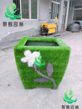 绿雕造型的制作工艺以及绿雕造型的生产厂家哪家好?图片