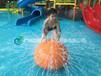 辽宁水上乐园戏水小品建造五锥倒水桶设备喷水球订做