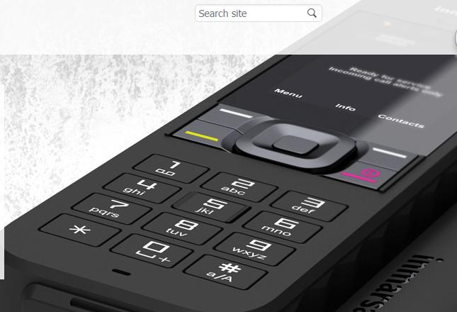 全国防汛用海事卫星手机Isatphone2