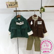 广州童装尾货低价批发亲鼓恒妙冬装尾货品牌童装折扣走份