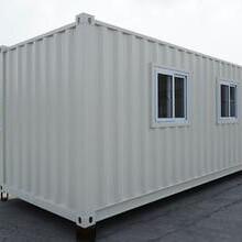 锡林浩特集装箱彩钢房-彩钢板房,鄂尔多斯集装箱板房图片