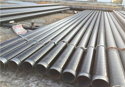 山东济南聚氨酯直埋保温螺旋钢管实体厂家