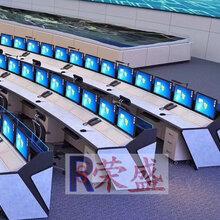 公安信息指挥中心控制台生产厂家航空能源监控中心监控操作台图片