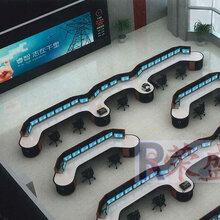 地铁调度工程指挥调度台定制产品广州哪里在专业厂家制作调度台图片