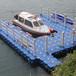 水上浮桥平台浮?#33756;?#19978;浮筒浮桥水上塑料水上平台PE水上浮筒