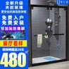 成都不锈钢厂家直销钢化玻璃整体淋浴房洗澡间卫生间隔断