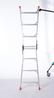 深圳腾达DR.LADDER安全科技研发梯博士香港进口折合式铝合金两用人字梯兼直梯