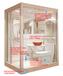那波利整體沐浴房空間設計合理,優于傳統衛生間,浴室內看不到明管