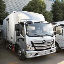 冷藏车运输报价新款福田欧马可冷藏车整车出厂价多少图片