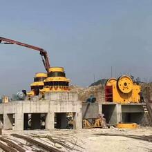 貴州安順立式板錘制沙機生產現場圖片