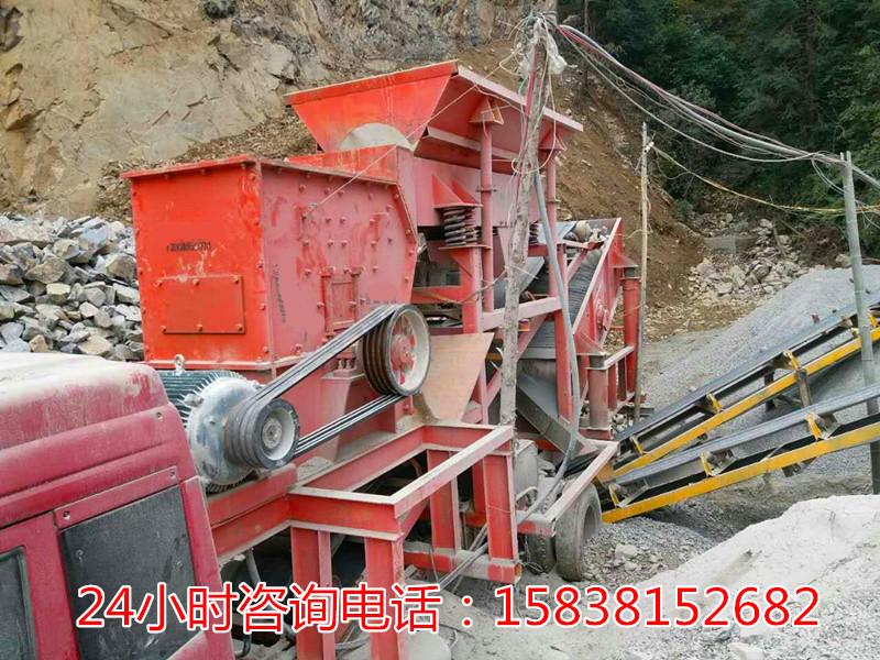 新型制砂機廠家報價,天津開發區履帶式移動破碎站
